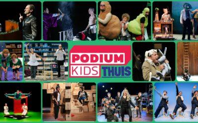 Nieuwe voorstellingen op Podiumkids Thuis